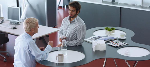 Konferenzraum Lounge - AVB Büroeinrichtungen Düsseldorf