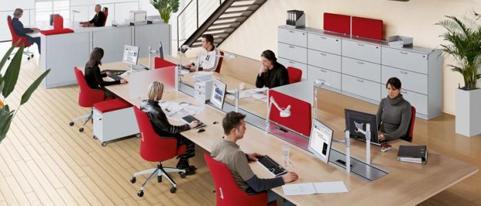 Schnell losarbeiten als Startup mit den richtigen Büromöbeln