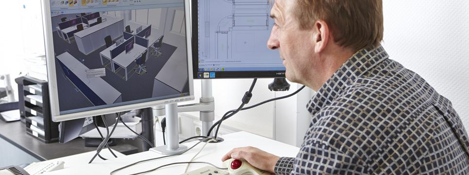 Computervisualisierte Büroraumplanung avb-gmbh.de