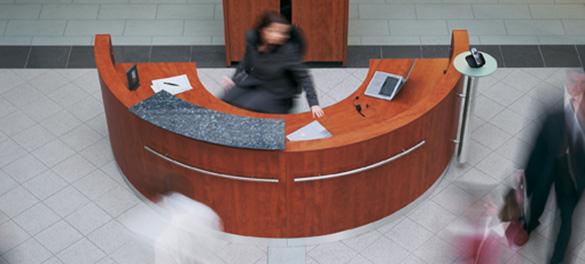 Empfangsmöbel - AVB Büroeinrichtungen Düsseldorf