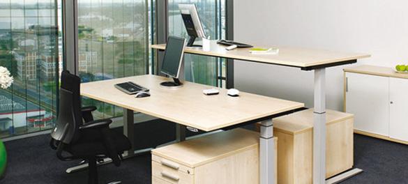 Höhenverstellbare Schreibtische avb-gmbh.de