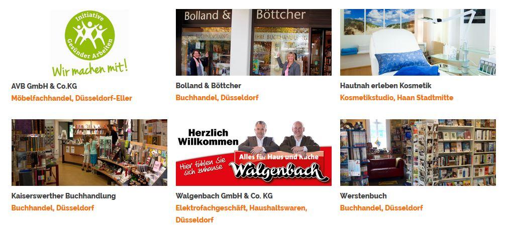 Buy Local Geschäfte in Düsseldorf