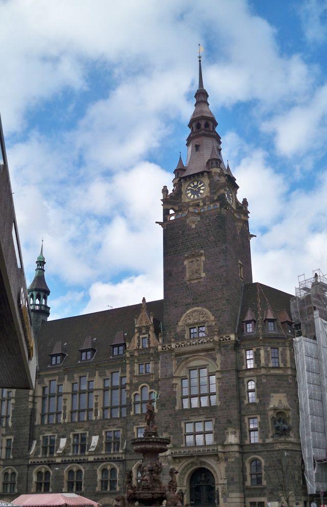 Elberfelder Rathaus in Wuppertal
