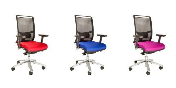 Bürostuhl Ahlen 21 in rot, blau oder pink