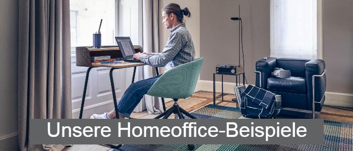 Mann im Home-Office - Home-Office-Angebote von AVB Büroeinrichtungen