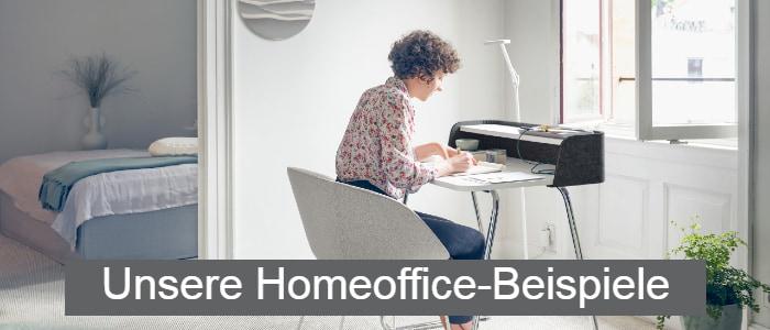 Frau im Home Office - Home-Office-Angebote von AVB Büroeinrichtungen
