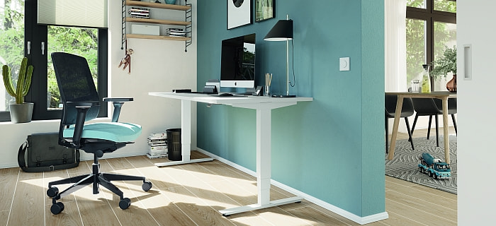 Schreibtisch im Home Office - AVB Büroeinrichtungen